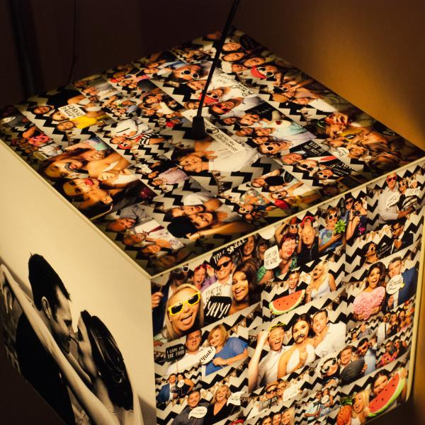 personalized design light cube