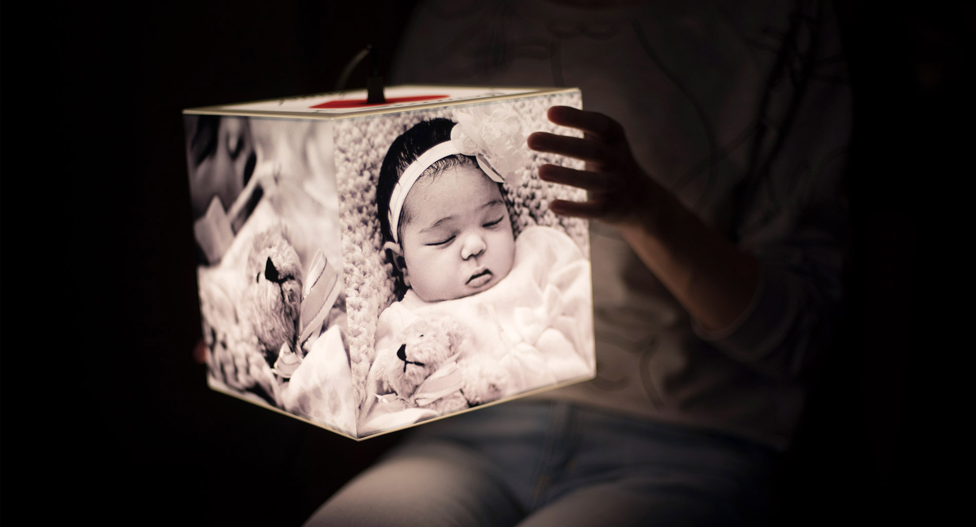 Photo lamps - the bright future of gift giving