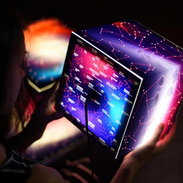 constellation lamp light cube lightbox