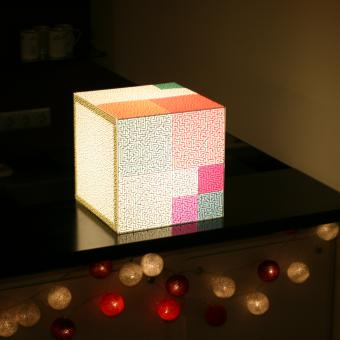 Your only way uniqcube design lighting. You can use each side to solve a puzzle