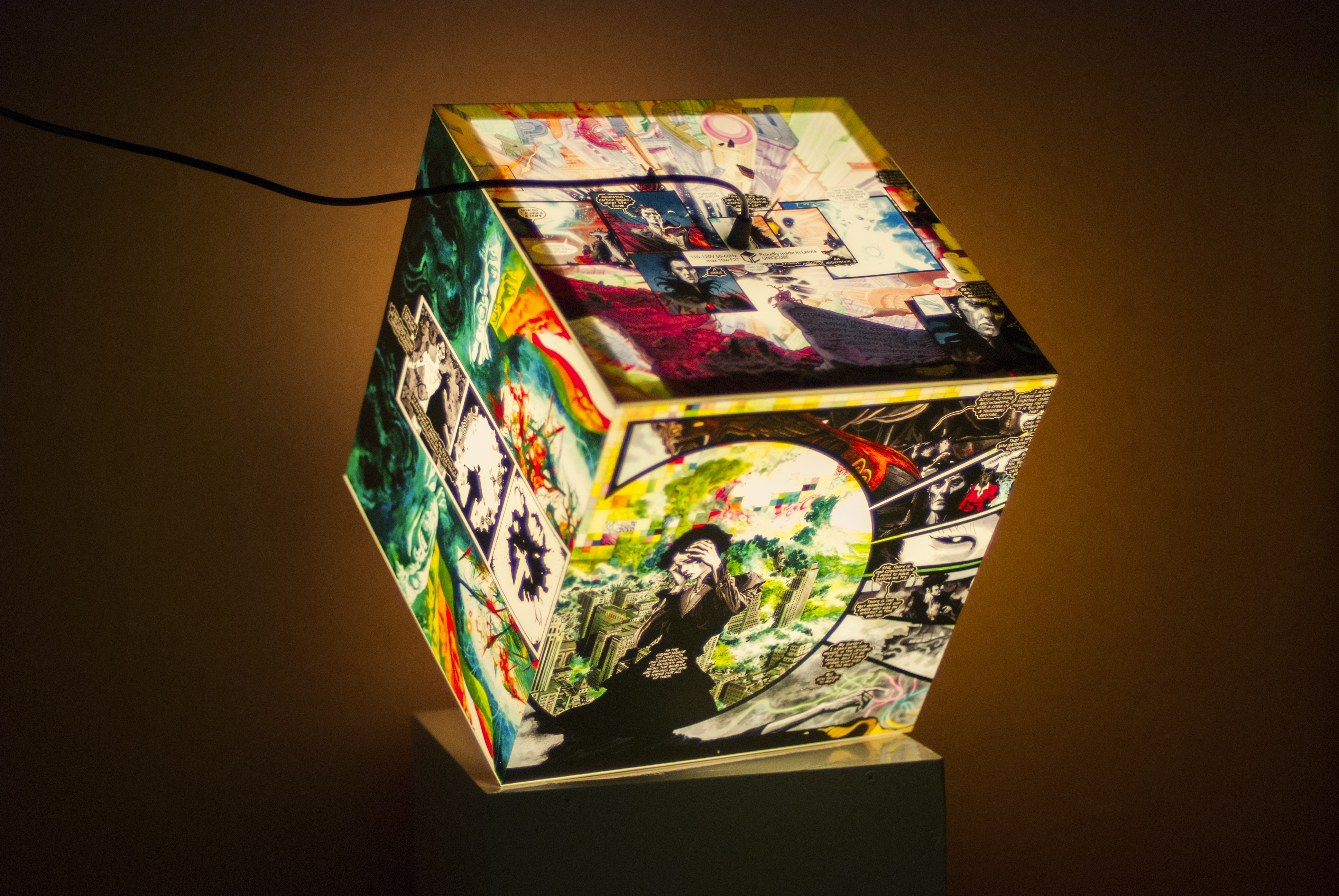 Personalized Lamp Uniqcube