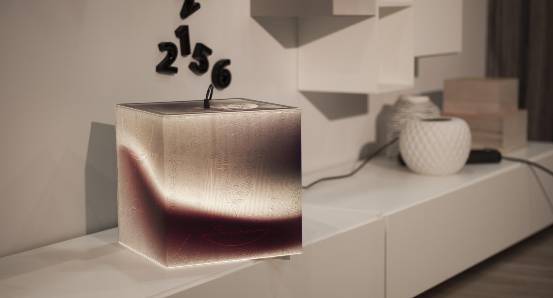 Light up your night mood lamp | UNIQCUBE