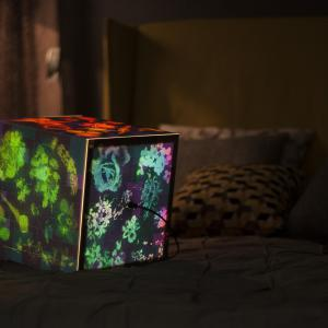 Summer night Summer night bedroom lighting cube lamp