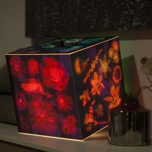 A great example how to use summer night light cube on the table