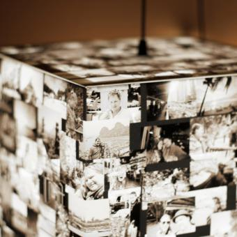 light cube personalized photos photography lamp
