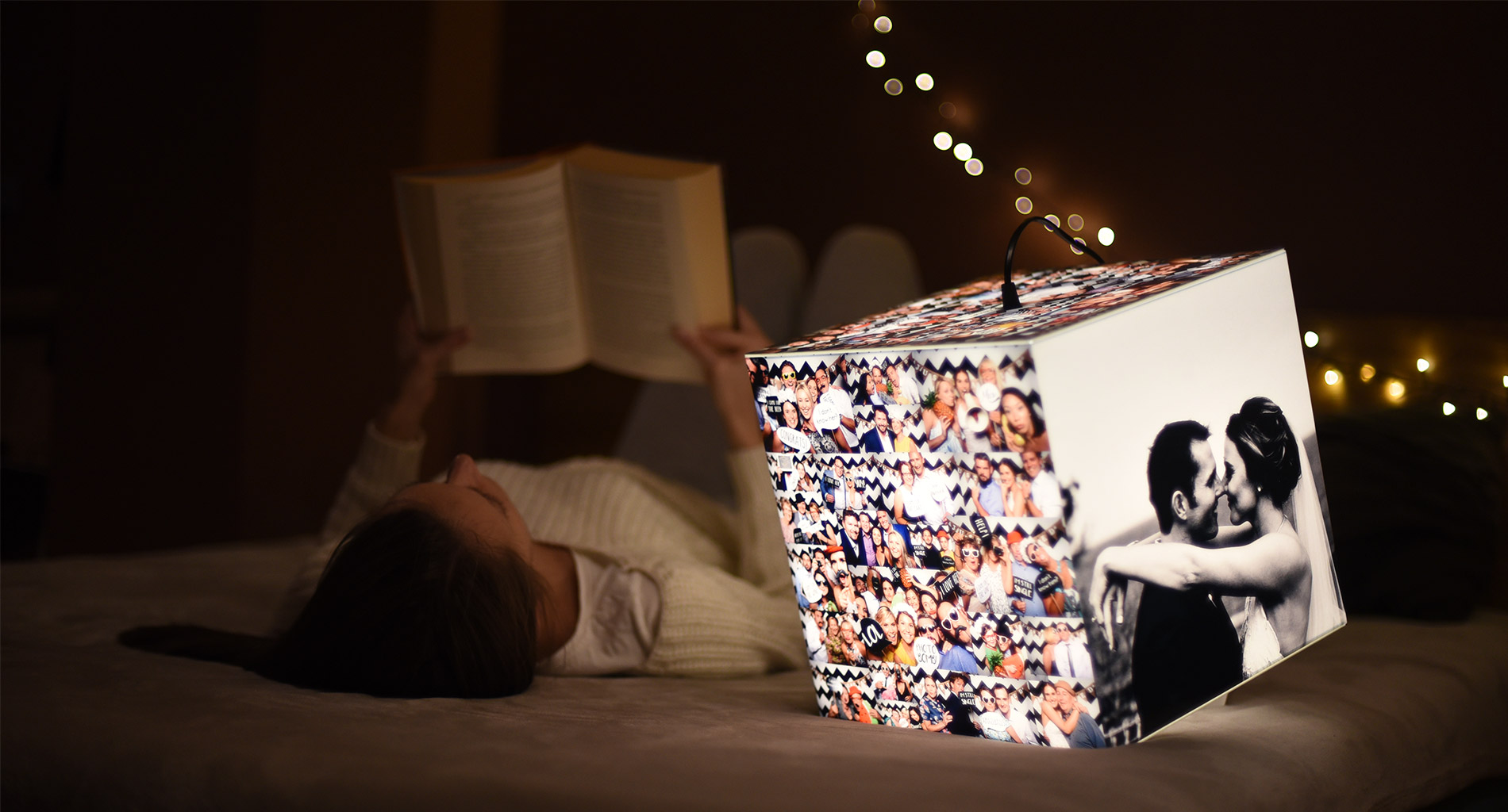 Trendy Photo Gifts in 2020 - Photo Lamp, Apron or Cards
