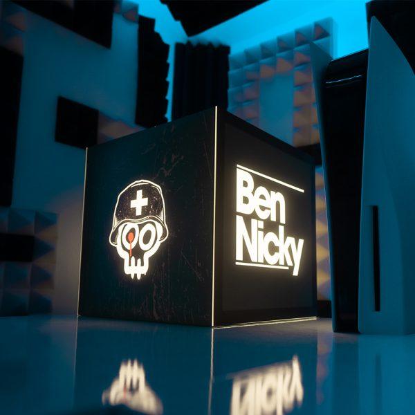 branded light cube ben nicky