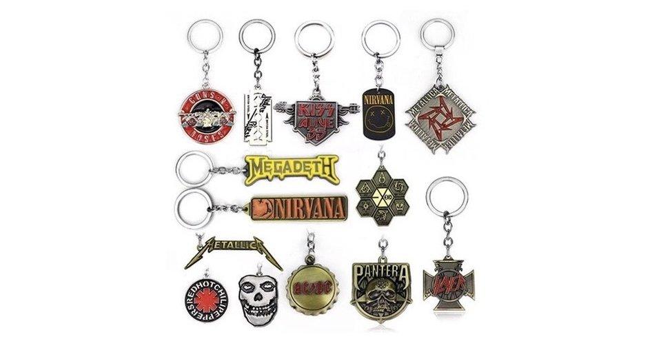 Long-time proven merchandise idea - key chains